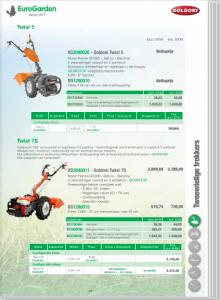 Tuinmachines Timmermans motoculteur goldoni verkoop verhuur installatie reparatie en onderhoud
